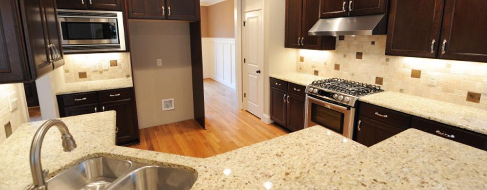 Orange County CA Granite Countertops Mahogany N White California Kitchens