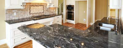 Orange County CA Granite Countertops Black N White Corona